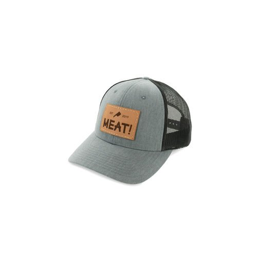 MEAT! Leather Patch Hat