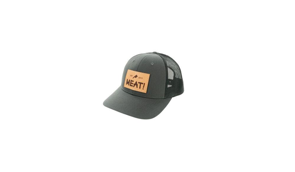 MEAT! Charcoal / Black Richardson Hat